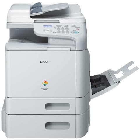 Image of AcuLaser CX37DTN - Stampante Multifunzione Laser - A Colori - Stampa, Copia, Scansione - A4 - Eth