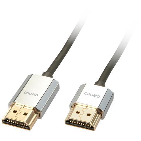 LINDY Cavo Slim HDMI High Speed Slim CROMOA® 1m