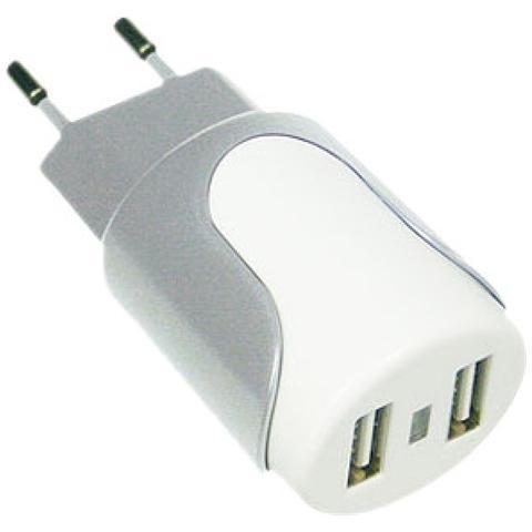 MEDIACOM Alimentatore Dual USB per Tablet e Smartphone