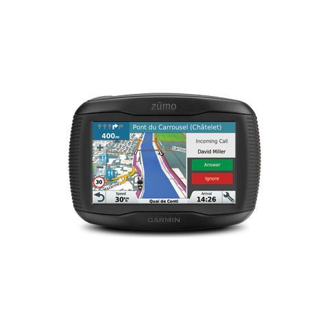 Zumo 345LM Display 4.3'' impermeabile con MicroSD Bluetooth con mappe Europa Centrale