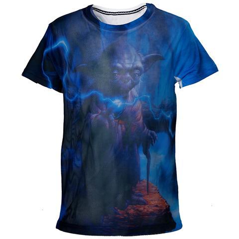 BIOWORLD Star Wars - Yoda Mesh (T-Shirt Bambino 98/104cm)