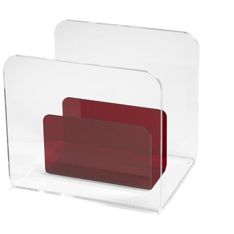 Emporium Portariviste Allo (portariviste) Metacrilato Rosso Componenti D'arredo Design