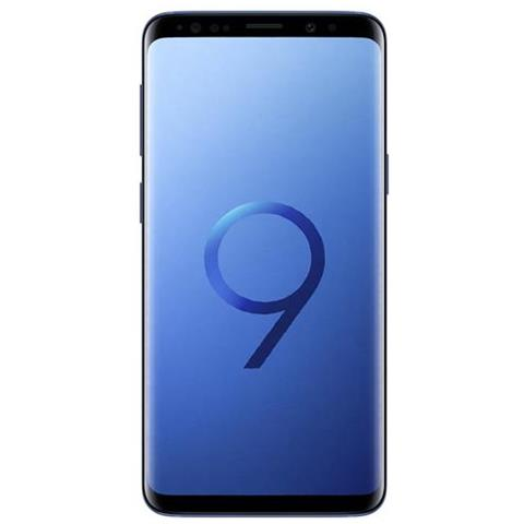 Galaxy S9 Blu Display 5.8'' Quad HD Octa Core Ram 4GB Storage 64GB +Slot MicroSD Wi-Fi + 4G Fotocamera 12Mpx Android - Tim Italia - RICONDIZIONATO.