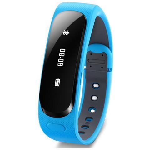 "HUAWEI Talkband B1 Large Display Oled 1.4"" Bluetooth USB per Android e iOS - Blu"