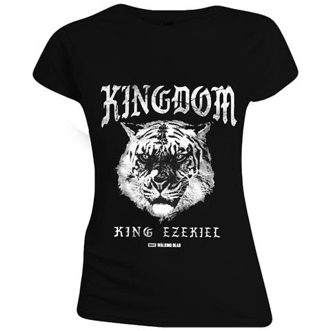 TimeCity Walking Dead (The) - Kingdom Tiger Black (T-Shirt Donna Tg. XL)