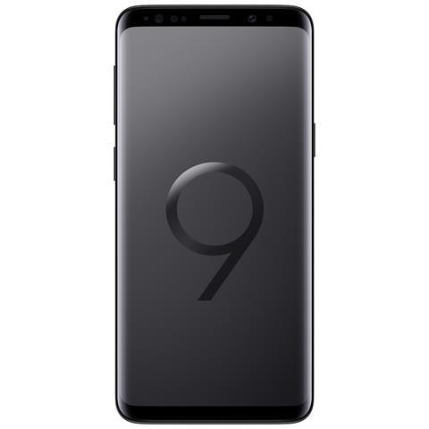 """Galaxy S9 Nero 64GB 4G Dual Sim Impermeabile Display 5.8"""" Quad HD Slot MicroSD Fotocamera 12Mpx Android - Europa - RICONDIZIONATO."""