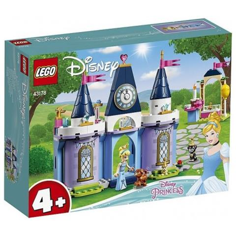 LEGO 43178 - Disney Princess La Festa al Castello di Cenerentola
