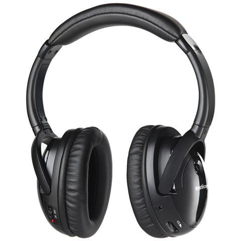 MELICONI HP 300 Professional - Cuffie Stereo Wireless con Base di Ricarica