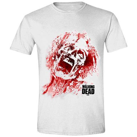 IMPORT Walking Dead - Zombie Blood Face (T-Shirt Unisex Tg. L)