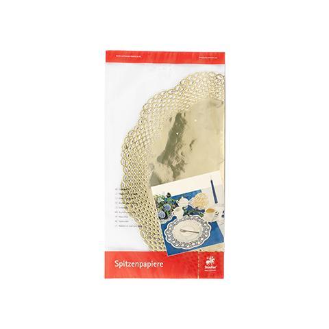 Pasabahce Confezione 3 Sottotorta Cm36 Oro Pasticceria