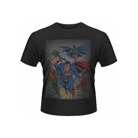 PLASTIC HEAD Dc Originals - Superheroes (T-Shirt Unisex Tg. 2XL)