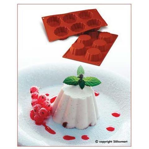 Silikomart Stampo briochette can 6 cavita 8cm classic silicone