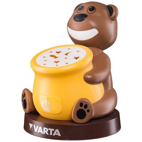 VARTA Luce notturna Paul the Bear Night Light a Batterie