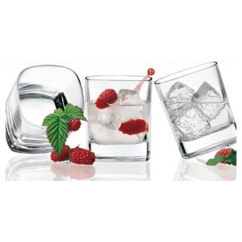 Bicchiere Linea Strauss 28,5cl Finissimo Vetro Cristallino 3 Pezzi - Vino