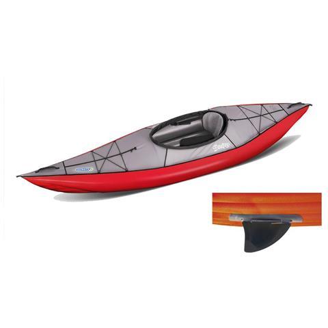Canoa Gonfiabile Swing 1 Rosso Con Pinna 043910-r (5c / 11c)
