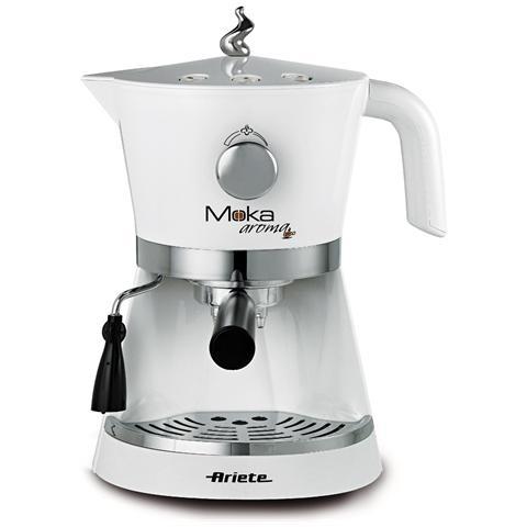 1337 Moka Aroma Espresso Potenza 850 Watt Colore Bianco