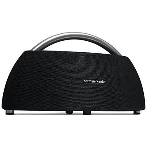 HARMAN KARDON Speaker Portatile Go + Play Wireless Bluetooth Potenza 4 x 25 Watt con Doppio Microfono Colore Nero