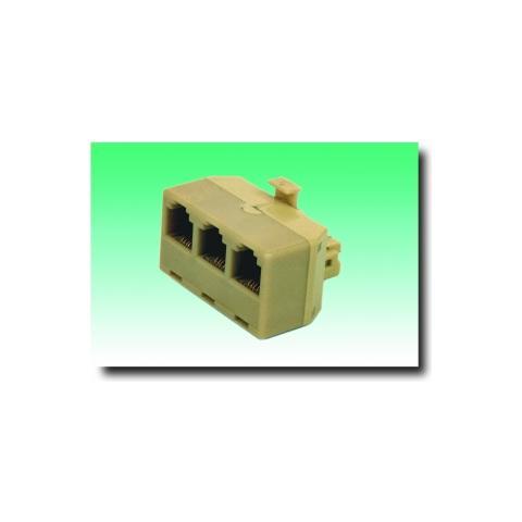 GeBL Adattatore Telefonico 6P / 4C / 3 x 6P / C