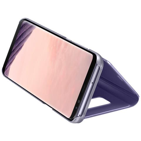 SAMSUNG Clear View Violet Galxy S8+