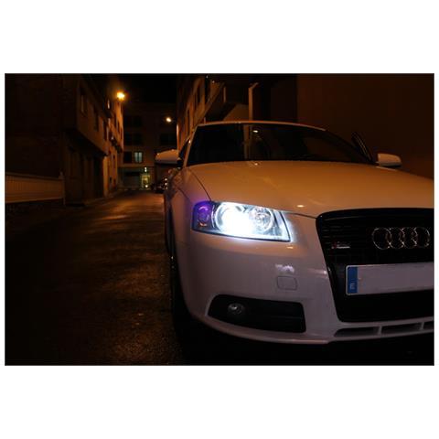 Kit Xenon Auto H7 6000â°k 35 Watt Professionale Canbus 2.0 Adatto Per Audi A3 8p1 Versione...