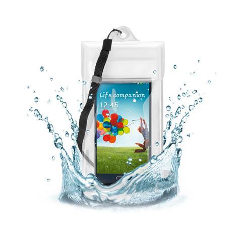 GOOBAY I-SMART-WTP - Custodia impermeabile per iPhone4/5 e Samsung Galaxy S3