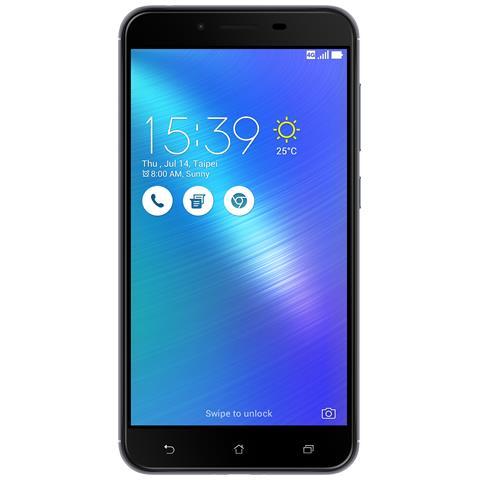 "ASUS Zenfone 3 Max ZC553KL Grigio 32 GB 4G/LTE Dual Sim Display 5.5"" Full HD Slot Micro SD Fotocamera 16 Mpx Android Italia"