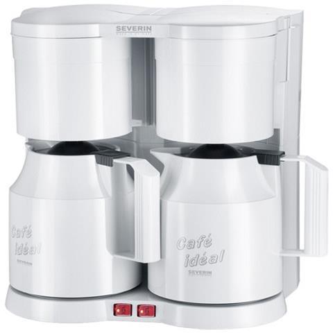 Doppia macchina per Caffè Americano KA 5827 2x800 W Colore Bianco