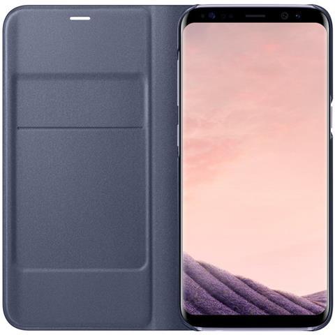 SAMSUNG Custodia LED per Samsung Galaxy S8 Colore Viola
