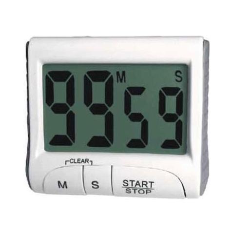 Timer Digitale Calamitato Con Numeri Grandi Ad Alto Contrasto Cucina & Hobby