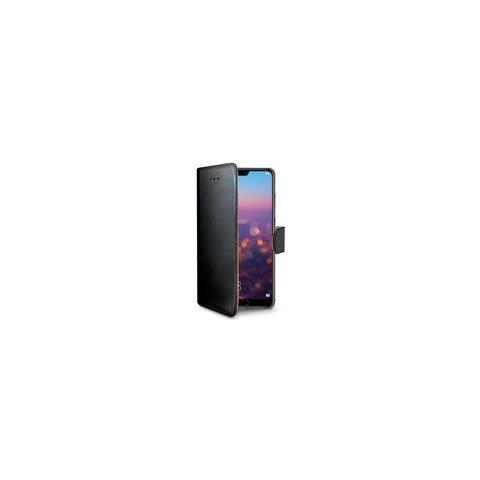 CELLY Flip Cover Custodia Wally per Huawei P20 colore Nero