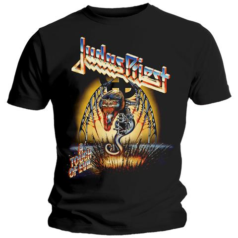 ROCK OFF Judas Priest - Touch Of Evil (T-Shirt Unisex Tg. M)