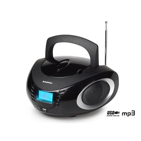 AudioSonic CD-1594, Digitale, FM, MW, Lettore, CD, 6W, LCD