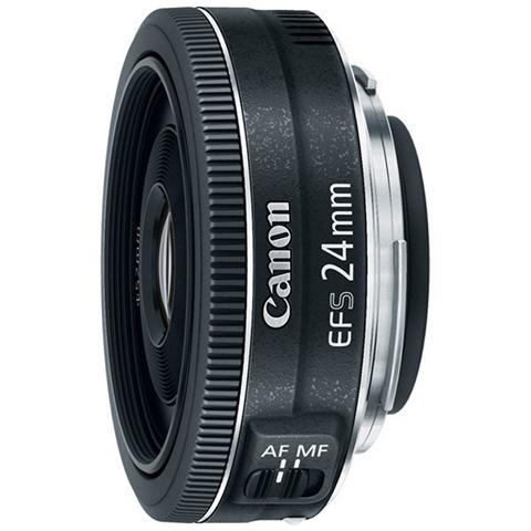 Obiettivo 24 mm F / 2.8 STM Attacco Canon EF-S