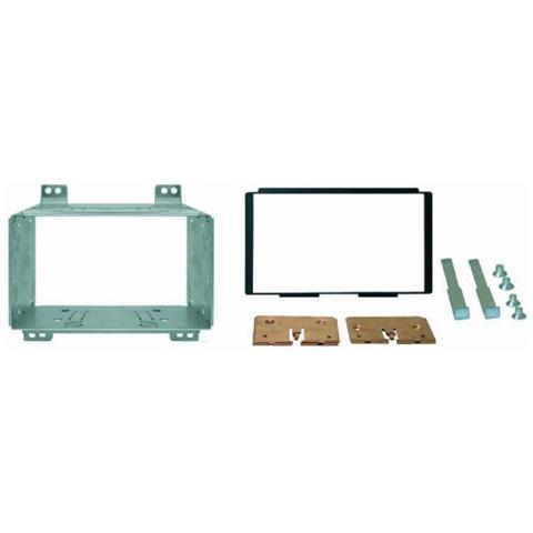 Phonocar Adattatore autoradio 03513 Kit di fissaggio per autoradio Doppio DIN Nero Kia Carnival 06>