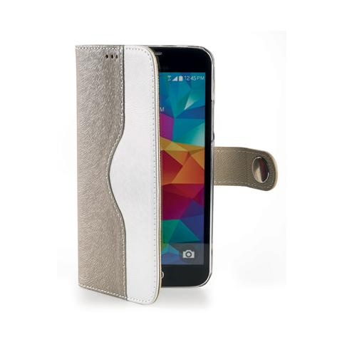 CELLY gold wallet onda case for s5 mini