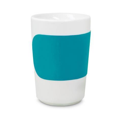 Tazza grande Touch Five Senses color turchese 0,35 l