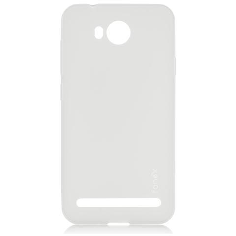 FONEX Inv Cover Ultra Sottile 0,2 mm in Morbido TPU per Huawei Y3 II Colore Trasparente