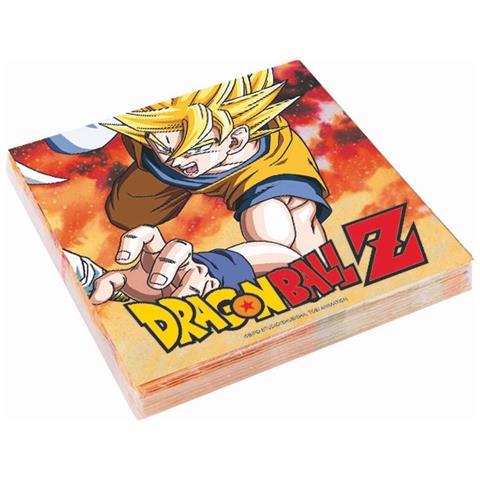 GIOCOPLAST Dragon Ball Z - 20 Tovaglioli 33x33