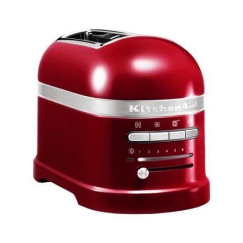 5KMT2204ECA Tostapane A 2 Scomparti Potenza 1250 Watt Colore Rosso Mela Metallizzato