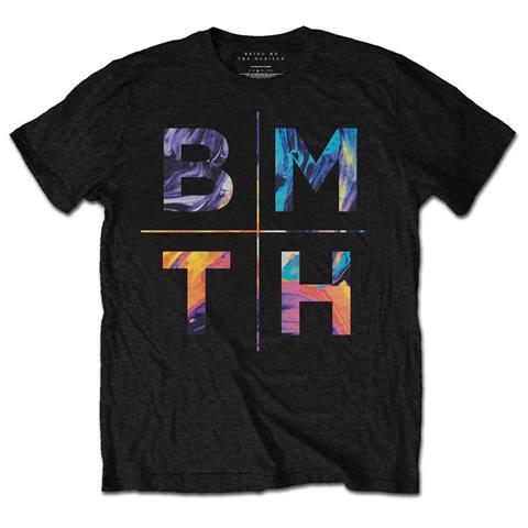 ROCK OFF Bring Me The Horizon - Colours (T-Shirt Unisex Tg. S)