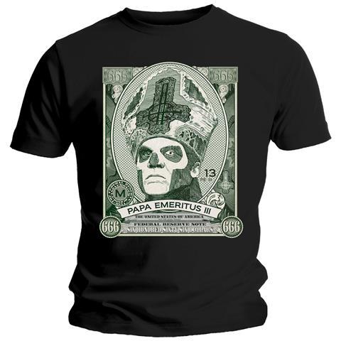 ROCK OFF Ghost - Papa Cash (T-Shirt Unisex Tg. L)