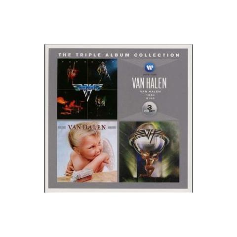 WARNER BROS Cd Van Halen - The Triple Album Collect