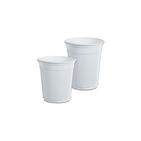 DOPLA 100 bicchieri 166cc bianco monouso dopla