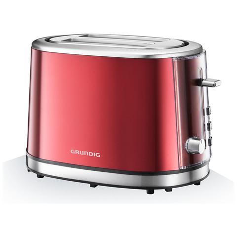 Tostapane TA 6330 2 Fette Potenza 850 Watt Colore Rosso