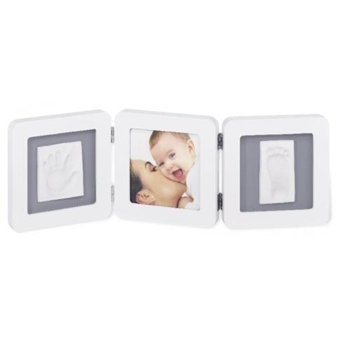 Baby Art Double Print Frame Cornice Bianca 34120052