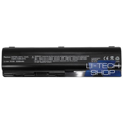Image of Batteria Notebook compatibile 5200mAh per HP PAVILLION DV5-1255EG 6 celle nero 57Wh 5.2Ah