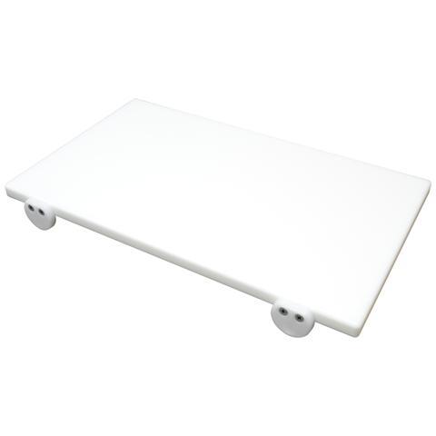 Tagliere In Polietilene 50x30x2cm Bianco