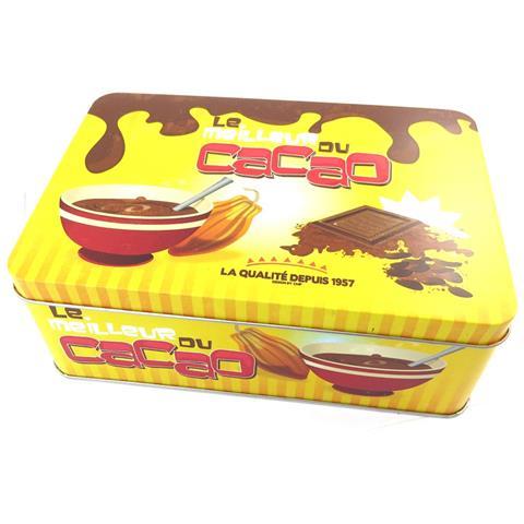caso zucchero 'le meilleur du cacao' di colore giallo bruno - [ n2686]