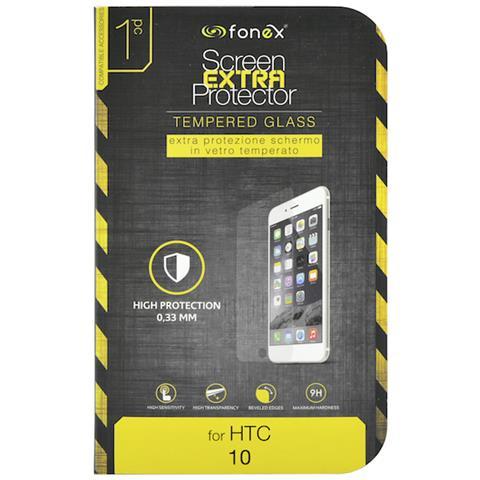 FONEX Protezione Schermo in Vetro Temperato per Htc 10 (1Pz)