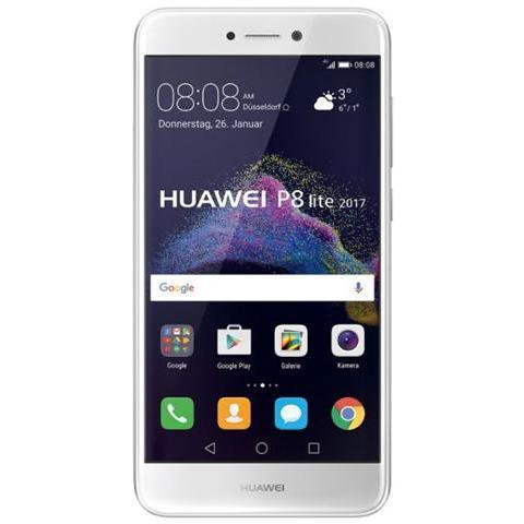 "HUAWEI P8 Lite 2017 Bianco 16 GB 4G/LTE Display 5.2"" Full HD Slot Micro SD Fotocamera 12 Mpx Android Vodafone Italia"